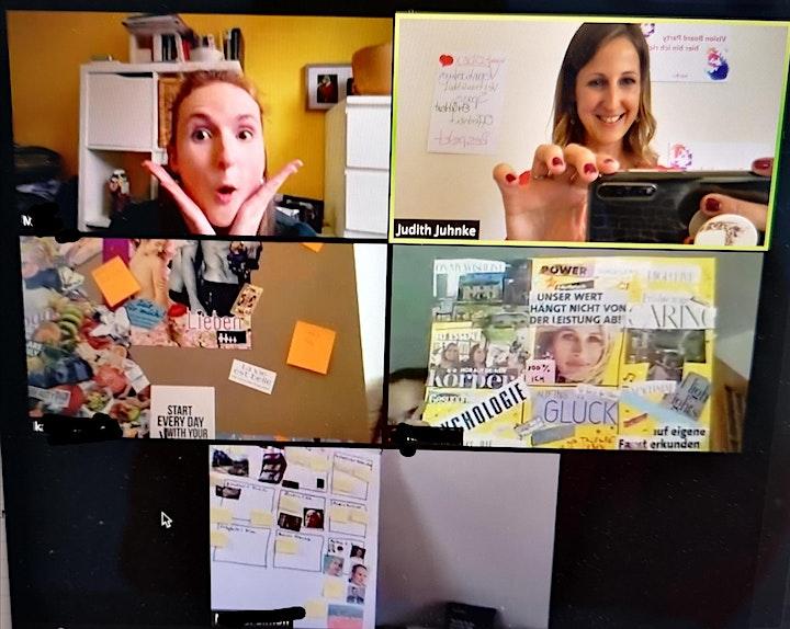 """""""Mehr als dein Vision Board""""  Onlineworkshop - persönl. Wachstum + Klarheit: Bild"""