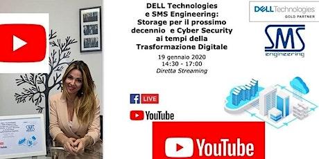 Storage e Cyber Security ai tempi della Trasformazione Digitale biglietti