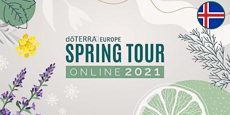 dōTERRA Spring Tour Online 2021 - Iceland ingressos
