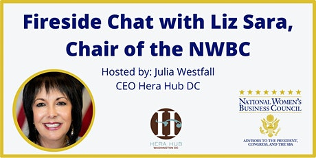 Fireside Chat with Liz Sara, Board Chair of the NWBC tickets