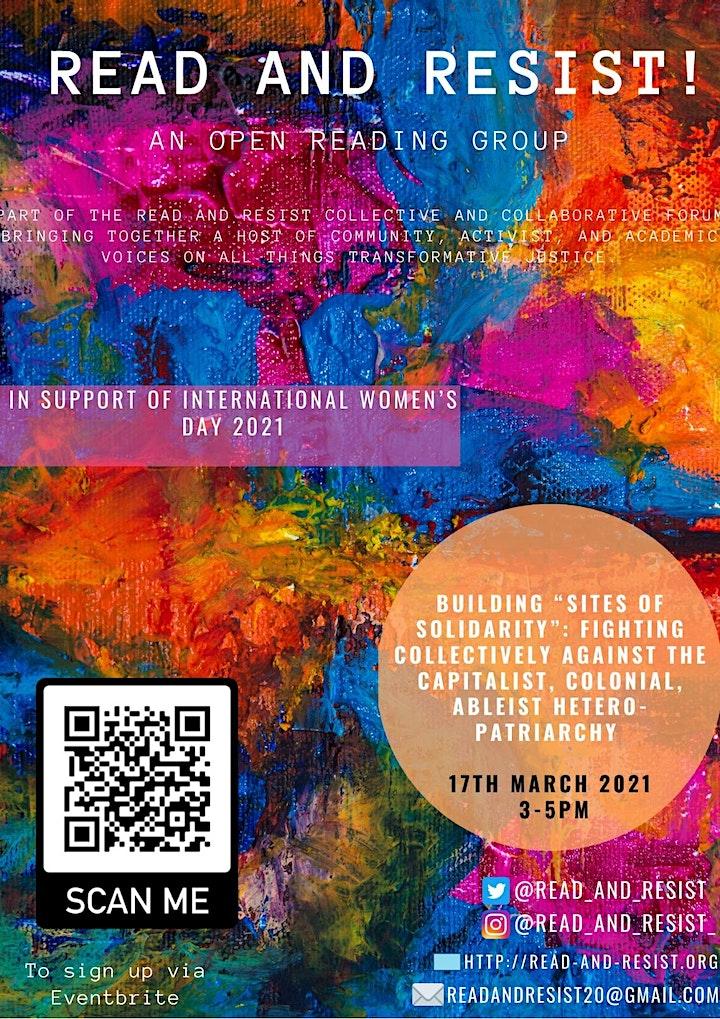 Read & Resist: Celebrating International Women's Day image