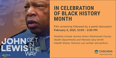 John Lewis: Get in the Way (Screening and Panel Discussion) tickets
