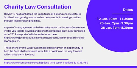 Charity Law Consultation tickets