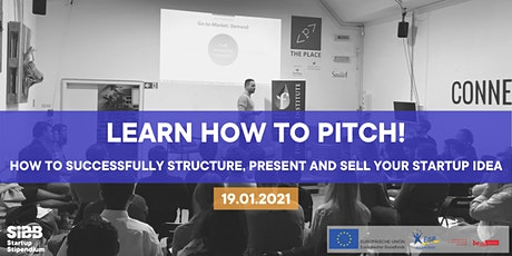 Learn how to pitch! How to structure, present and sell your startup idea Tickets