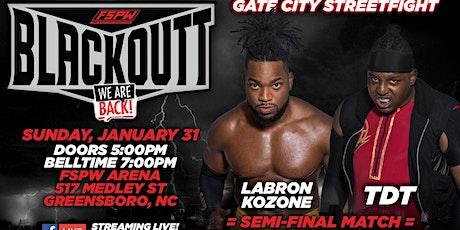FSPW Presents: Blackoutt LIVE - Sunday January 31st, 2021 tickets