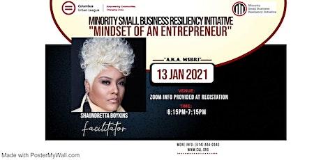 Mindset of an Entrepreneur Workshop tickets