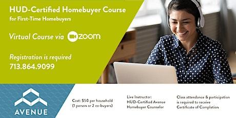 First-Time Homebuyers' Class 2021 tickets