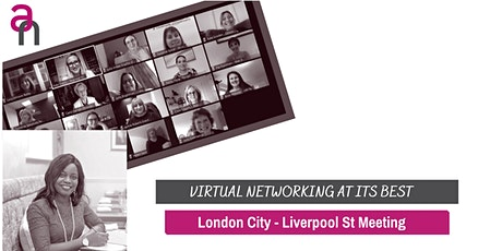 City of London Business Networking (Liverpool St Meeting) tickets