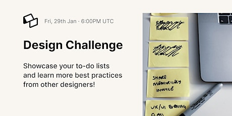 Monthly Design Challenge tickets