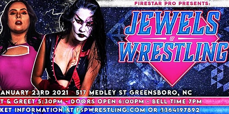 Jewels of Wrestling 2 - Women's Pro Wrestling event! tickets