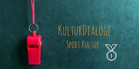 Online KulturDialoge: Sport Tickets