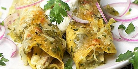 UBS - Virtual Cooking Class: Chicken Enchiladas Verde tickets