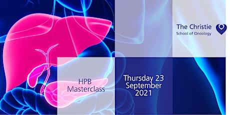 HPB Masterclass tickets