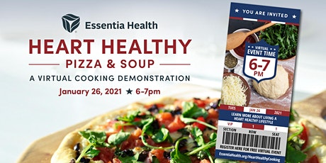 Heart Healthy Pizza & Soup – A Virtual Cooking Demonstration tickets