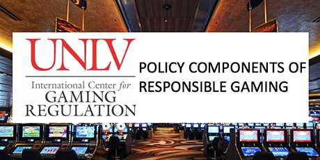 Policy Components of Responsible Gaming tickets