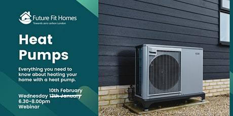 Heat Pumps for your Home tickets