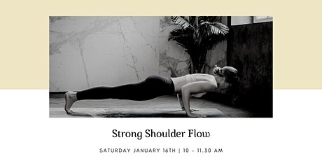 Strong Shoulder Flow tickets
