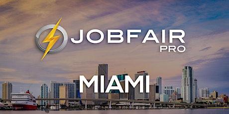 Miami Virtual Job Fair September 29, 2021 tickets