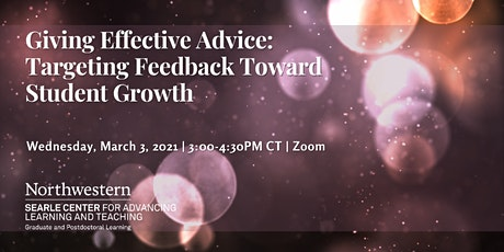 Giving Effective Advice: Targeting Feedback Toward Student Growth tickets