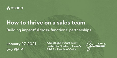 How to thrive on a sales team tickets