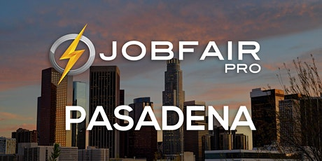 Pasadena Virtual Job Fair October 14, 2021 tickets