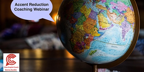 American English Pronunciation Coaching Webinar billets