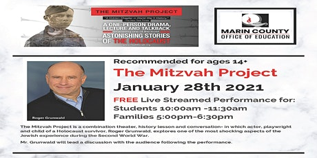 The Mitzvah Project -Community Event for ages 14+ tickets