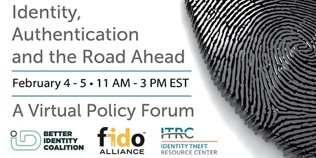 Identity, Authentication and the Road Ahead: A Virtual Policy Forum tickets