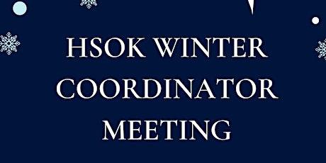 Winter  Coordinator Meeting tickets