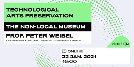 The Non-Local Museum | Prof. Peter Weibel tickets