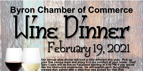 Byron Chamber Annual Wine Dinner tickets