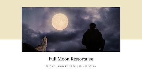 Full Moon Restorative tickets