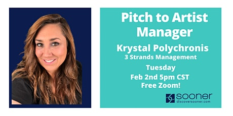 Song Pitch Night with Krystal Polychronis tickets