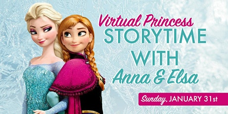 Dancing Princess Storytime with Anna & Elsa tickets