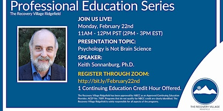Professional Education Series: Psychology is Not Brain Science tickets