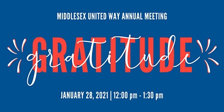 Middlesex United Way Annual Meeting tickets