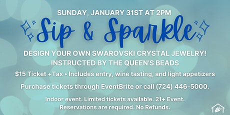 Sip & Sparkle at Greenhouse Winery! tickets