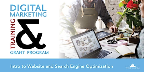 Digital Marketing Webinar- Intro to Website & Search Engine Optimization tickets