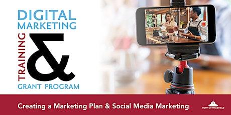 Digital Marketing Webinar- Intro to Marketing Plan & Social Media Marketing tickets
