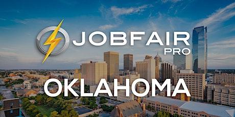 Oklahoma Virtual Job Fair October 21 , 2021 tickets