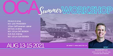2021 OCA Summer Workshop tickets