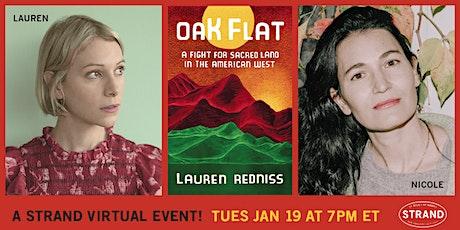 Lauren Redniss + Nicole Krauss:Oak Flat tickets