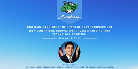 How NASA harnesses the power of crowdsourcing for idea generation & more! tickets