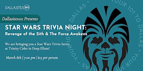 Star Wars Trivia Series (Episodes III &  VII) tickets