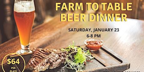 January Beer Dinner tickets