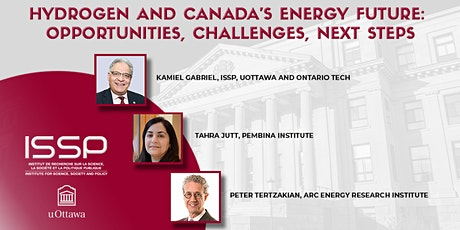 Hydrogen and Canada's Energy Future: Opportunities, Challenges, Next Steps tickets