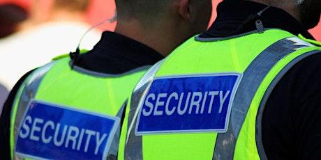 Armed/Unarmed Security Officer (SORA) Certification Program tickets