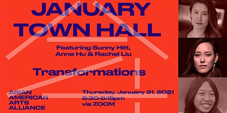January Town Hall 2021: Transformations tickets