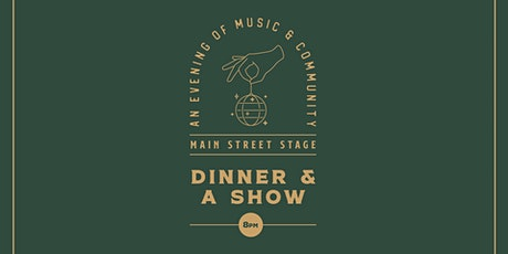 Dinner and a Show at The Yard tickets