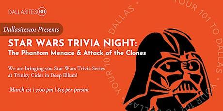 Star Wars Trivia Series (Episodes I & II) tickets